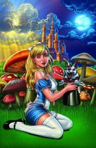 Grimm Fairy Tales Wonderland Down The Rabbit Hole #4a