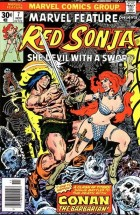marvel feature red sonja #7