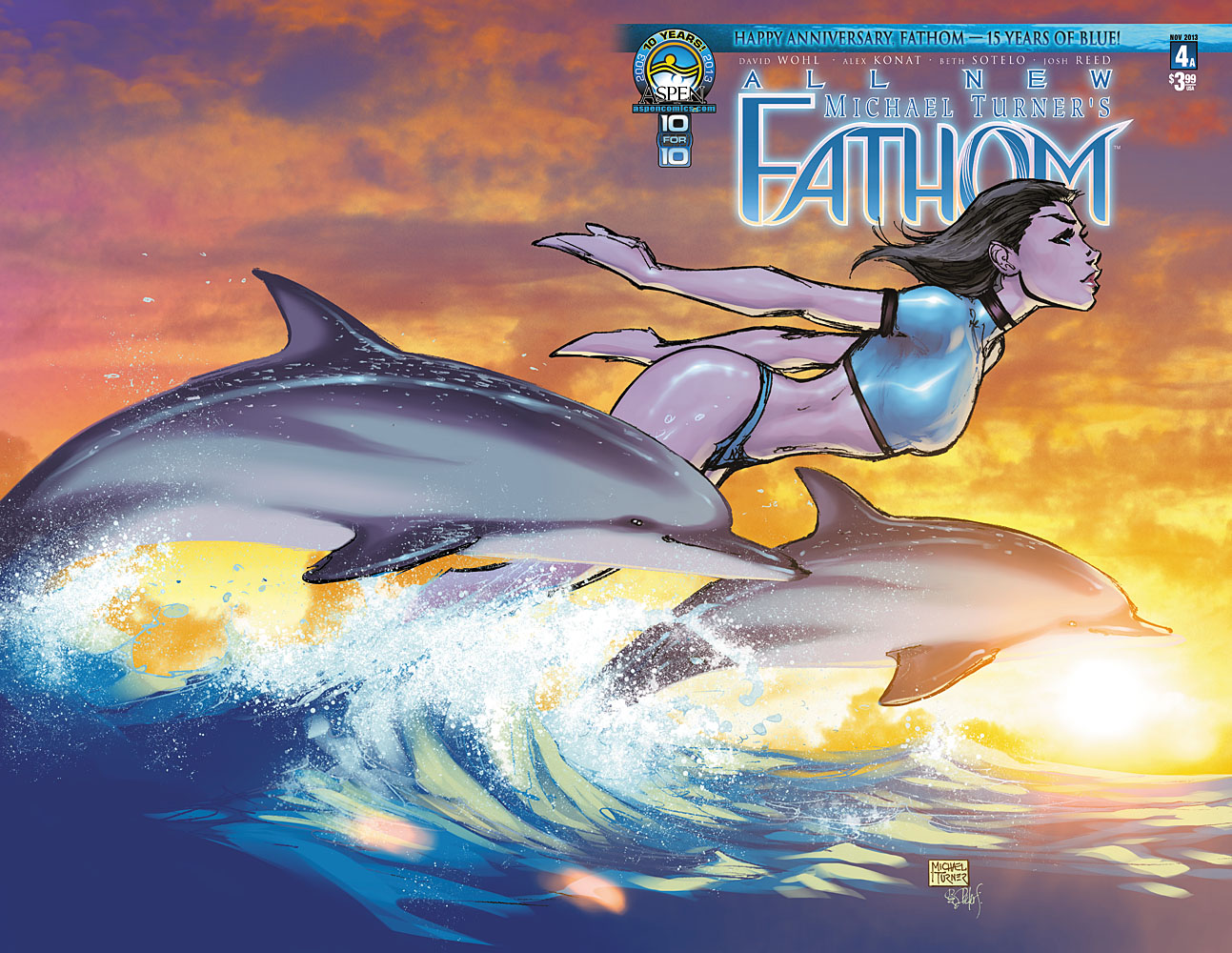 Preview: All New Michael Turner's Fathom #4