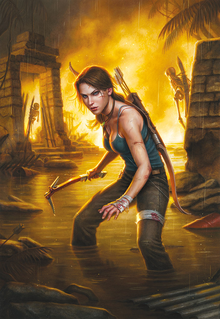 Gail Simone To Relaunch Tomb Raider Into 2014