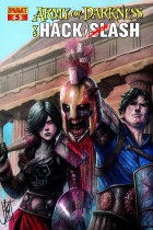 Army Of Darkness Vs Hack Slash #5a
