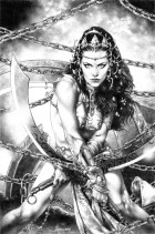 Warlord Of Mars  Dejah Thoris 34 bw