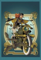 Batgirl #28 (J.G. Jones Steampunk Variant Cover