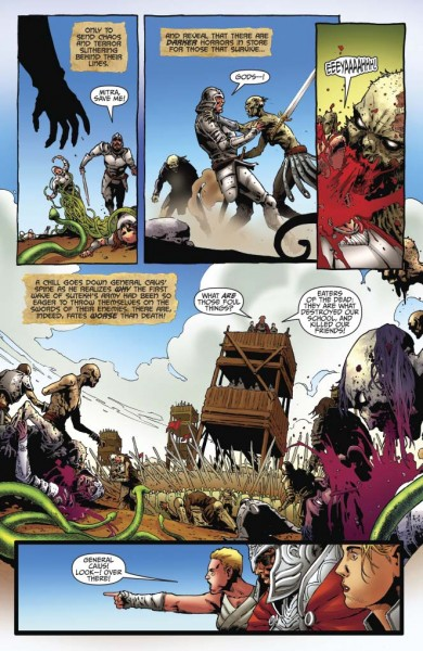 Red Sonja: Vultures Circle #4