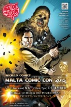 Official Malta Comic Con 2015 Poster