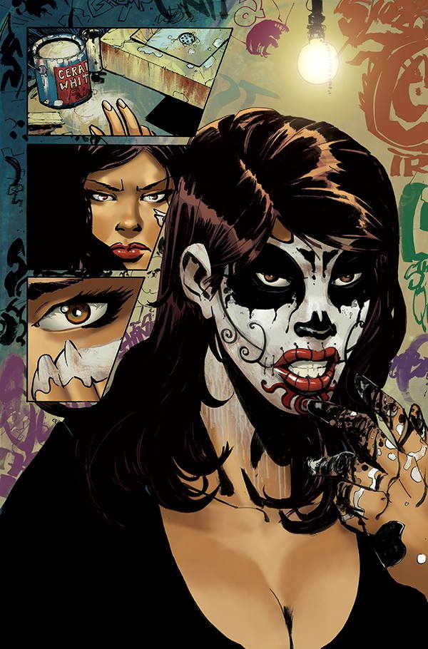 Coffin Comics Launches La Muerta Launched On The Day Of