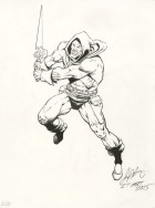 CBLDF - DREADSTAR PINUP by Jim Starlin