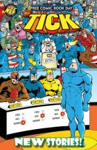 NEW ENGLAND - TICK FCBD 2016