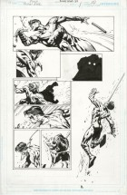 SAVED WHISKERS RESCUE - FOREVER EVIL #1 PAGE 18 David Finch