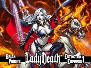 Lady Death Extinction Express 1 cvr