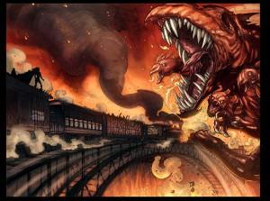 Lady Death Extinction Express #1 prev 2