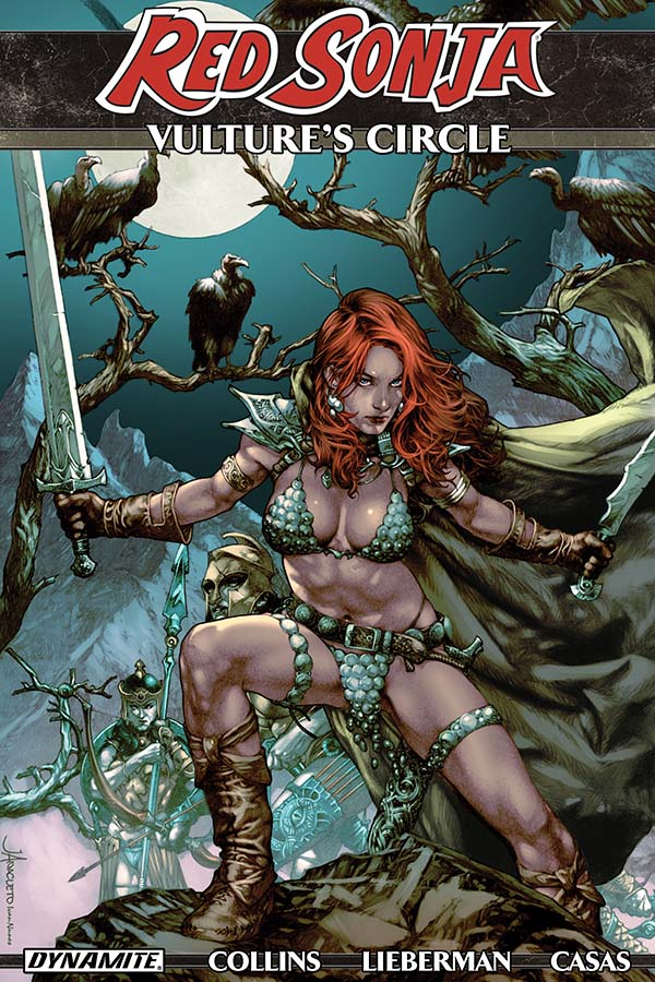 PREVIEW: Red Sonja Vultures Circle TP by Nancy A