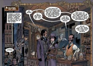 Lady Mechanika Lost Boys #1 prev 4