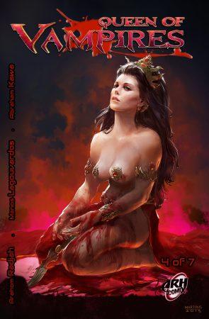 Queen of Vampires Cover #4 FINAL