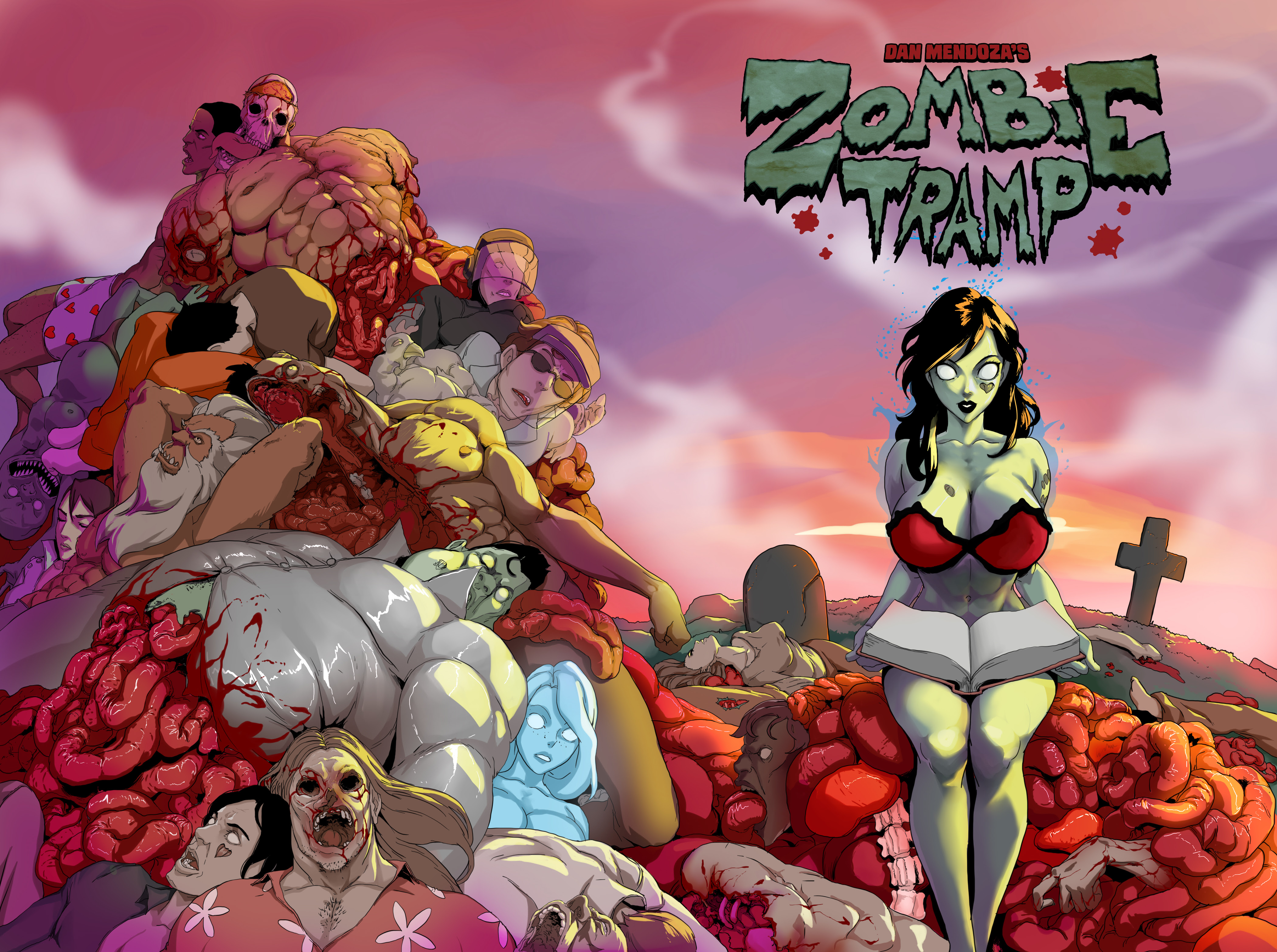 Zombie Tramp Gets The Deluxe Treatment Comics For Sinners