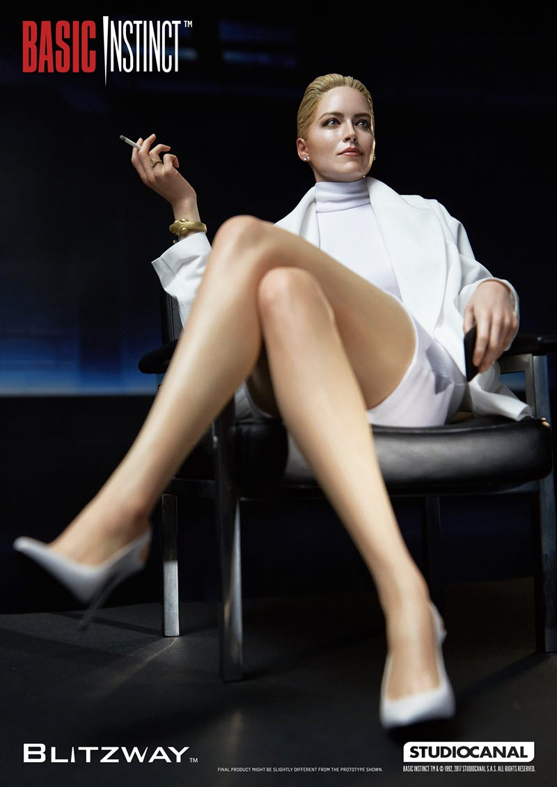 Sharon Stone Xxx Pics Simple sharon stone 'basic instinct' statue announced at sdcc 2017