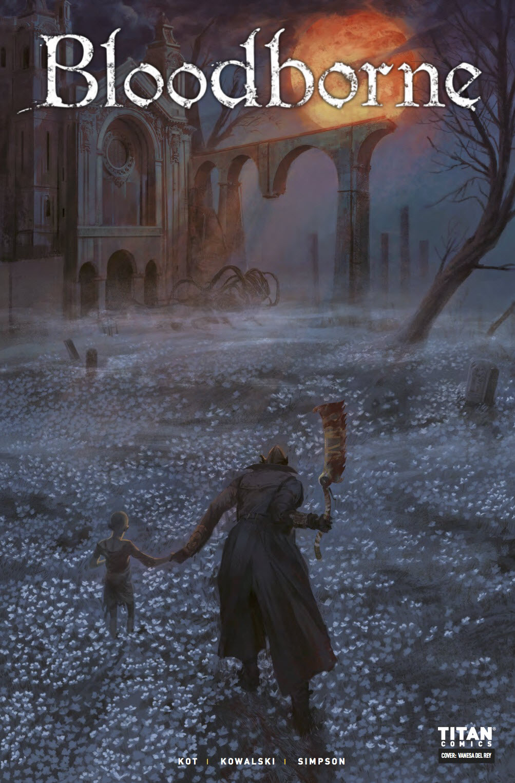 review  bloodborne the death of sleep  4  u2013 comics for sinners