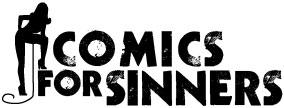 Comics for Sinners logo