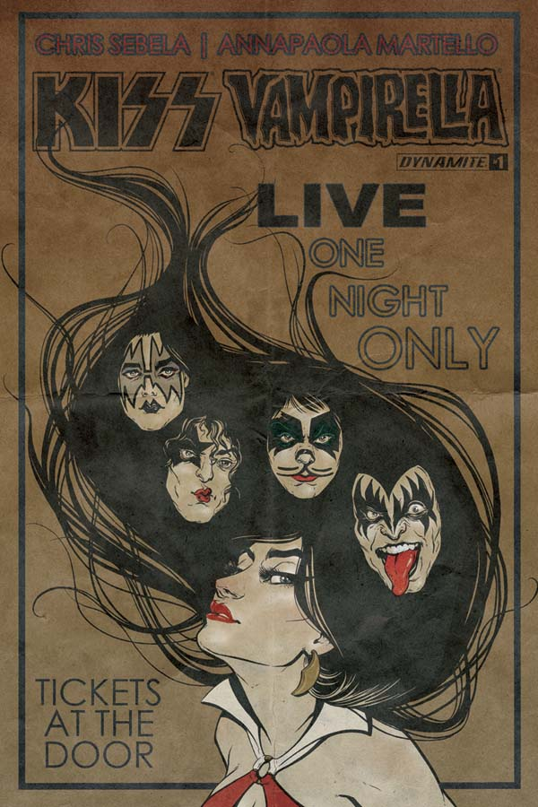 Review kissvampirella 1 rock n roll legends meet horror comics i have to say that setting the story in the 1970s in the start of both vampirellas as well as kiss careers sure is a good find from the writer m4hsunfo