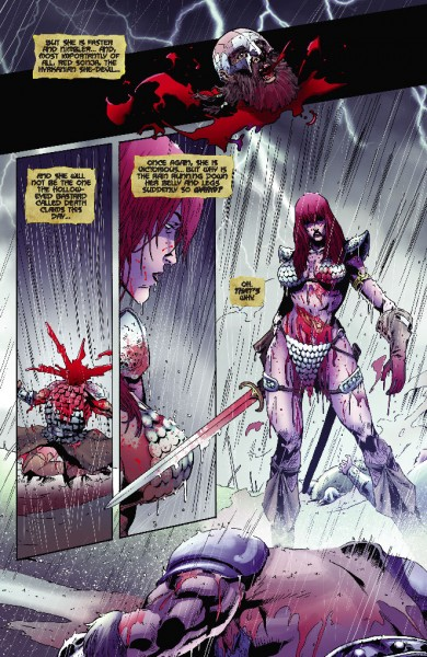 Preview: Red Sonja Vultures Circle TP - Comics for Sinners